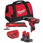 Набор инструментов MILWAUKEE M12 BPP3A-202B 4933441225
